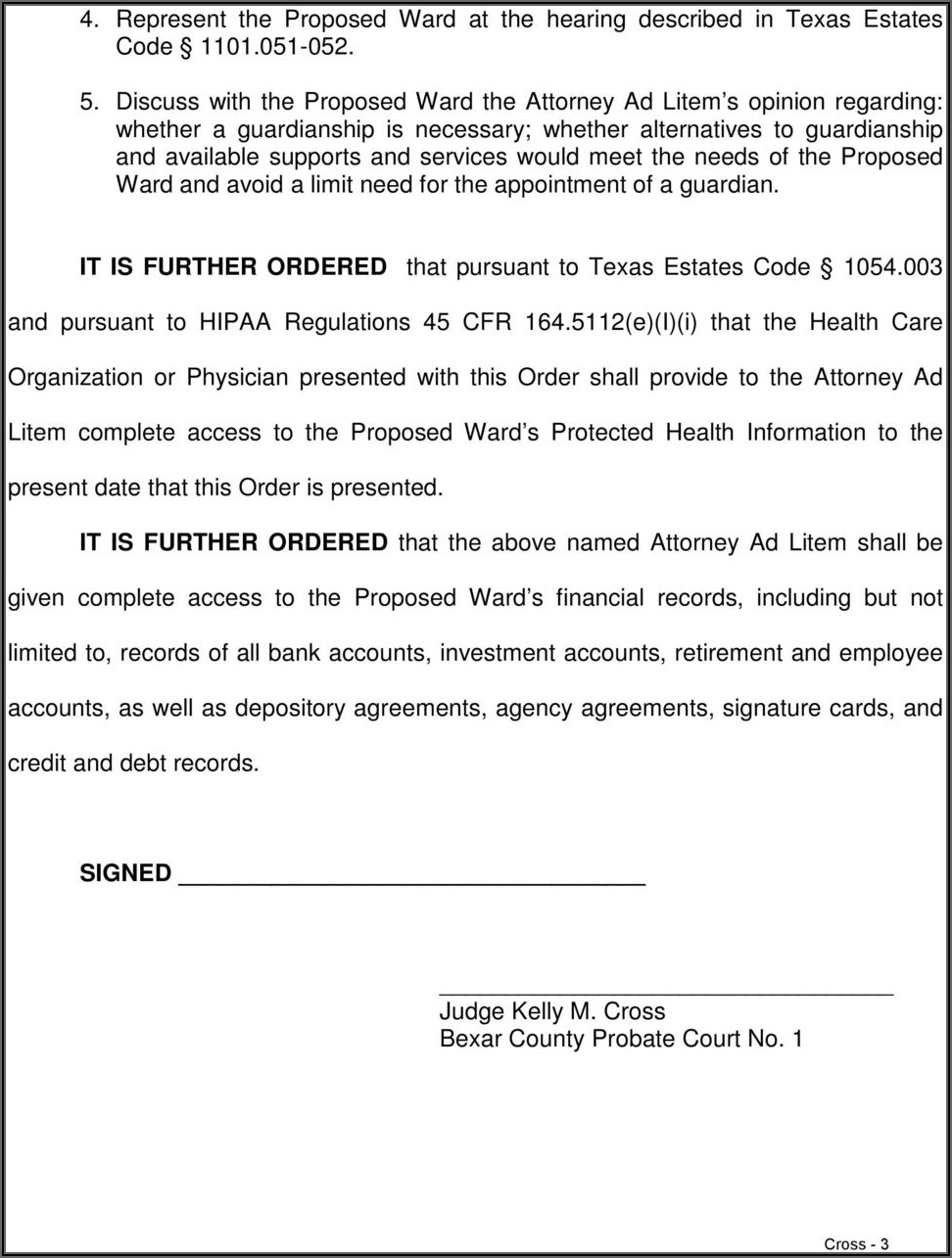 Bexar County Probate Court Forms