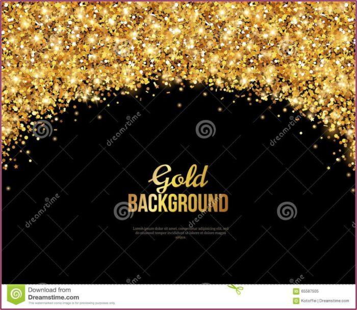 Black And Gold Wedding Invitations Templates
