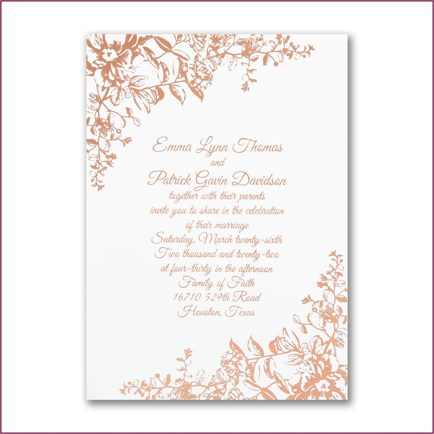 Carlson Craft Bridal Shower Invitations