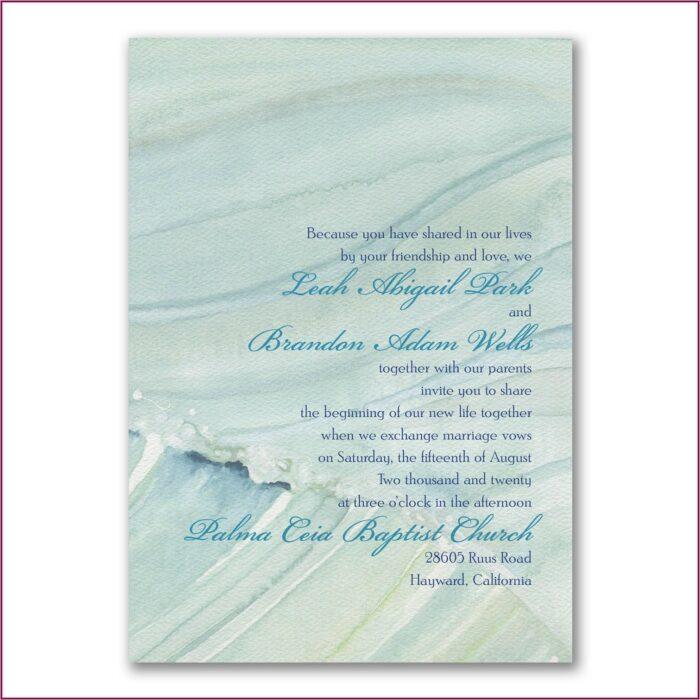 Carlson Craft Wedding Invitation Wording