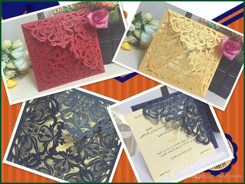 Cheap Royal Blue Wedding Invitations