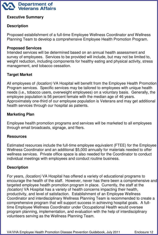 Corporate Wellness Program Proposal Template
