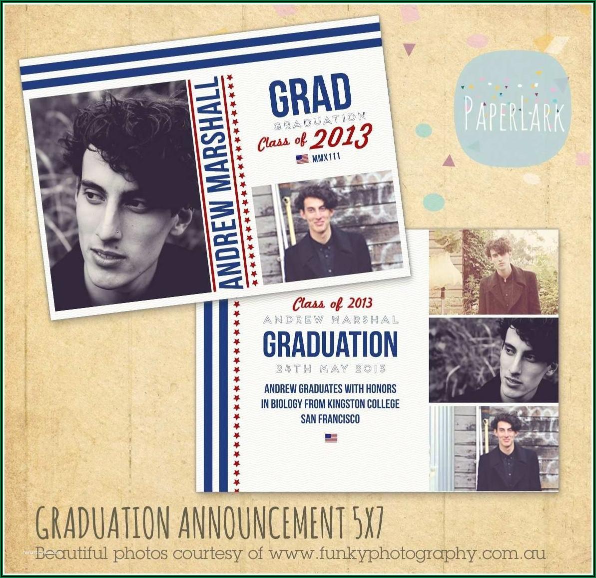 Create Your Own Graduation Invitations Free Graduation Announcement Maker