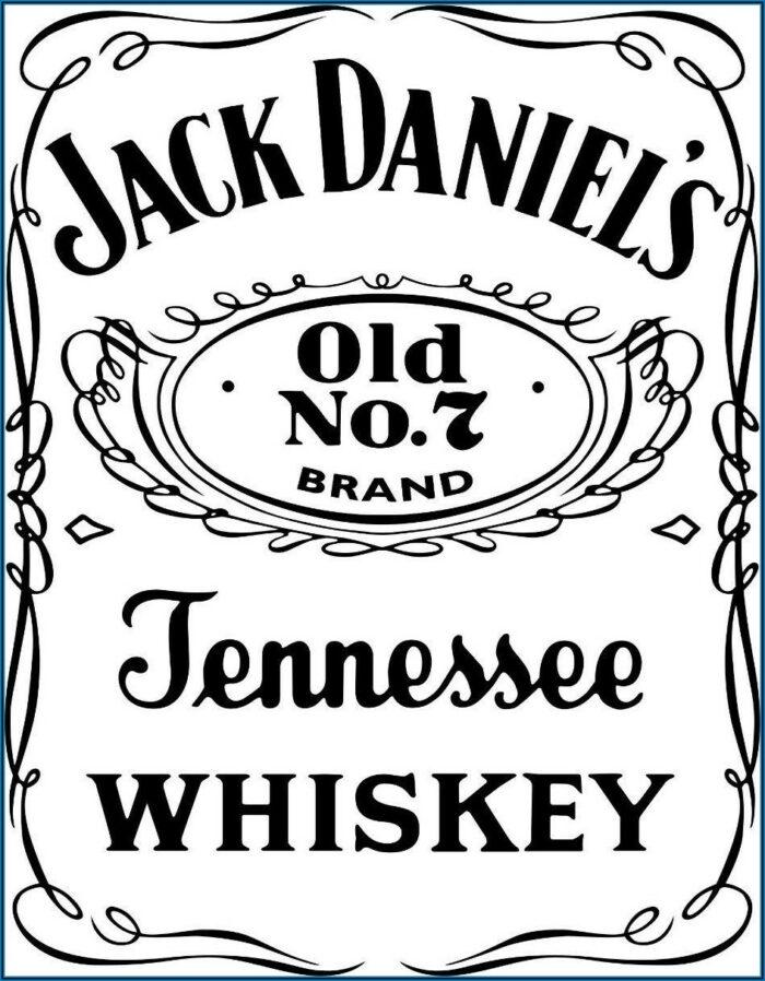 Custom Jack Daniels Label Template Download