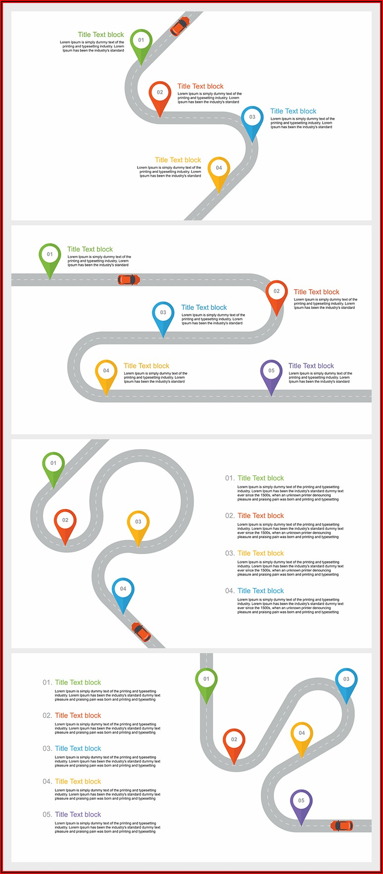 Download Free Powerpoint Templates Roadmap
