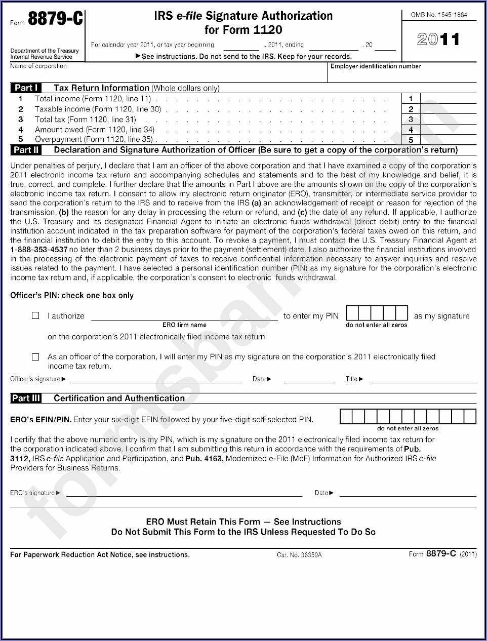 E Signature Authorization Form