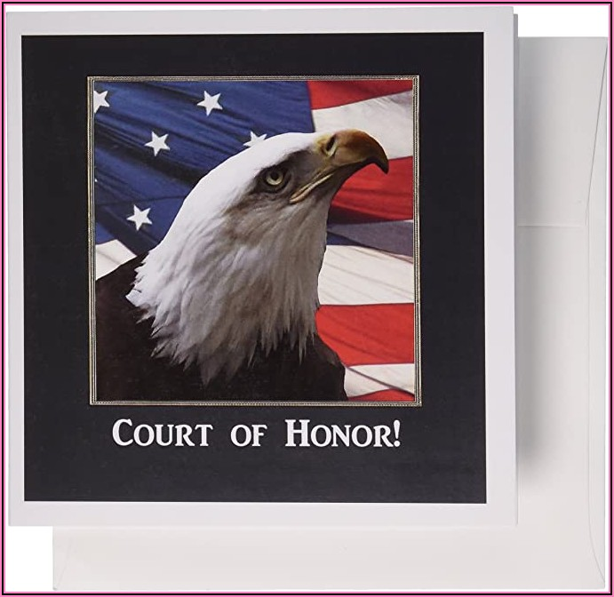 Eagle Scout Court Of Honor Cards
