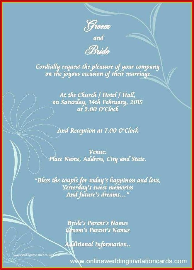 Email Invitation Templates Free Download