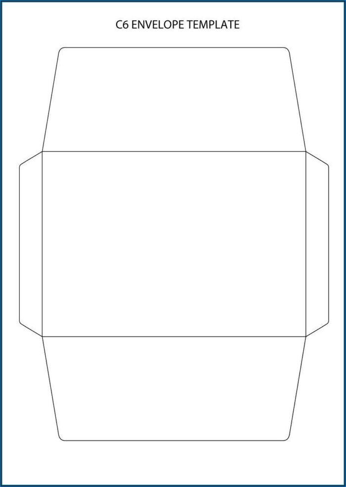 Envelope Templates Free Printable