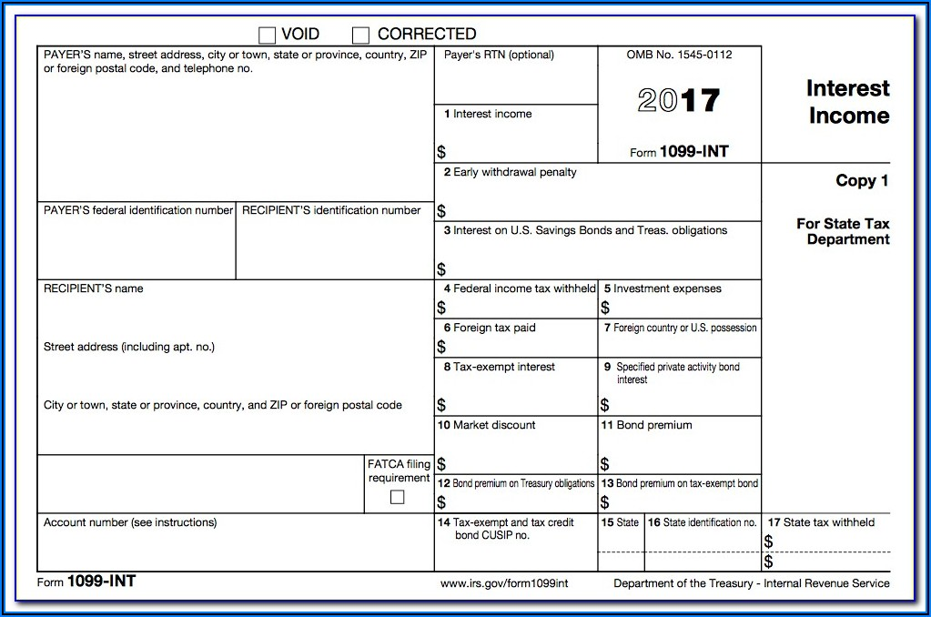 Form 1099 Int (rev. 10 2013) From Irs
