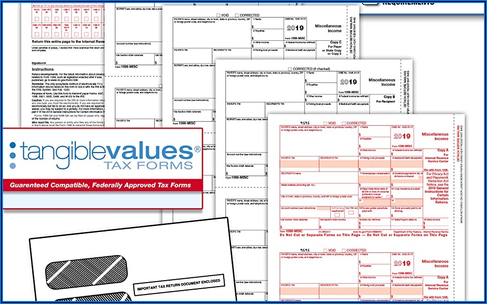 Form 1099 Misc 2018