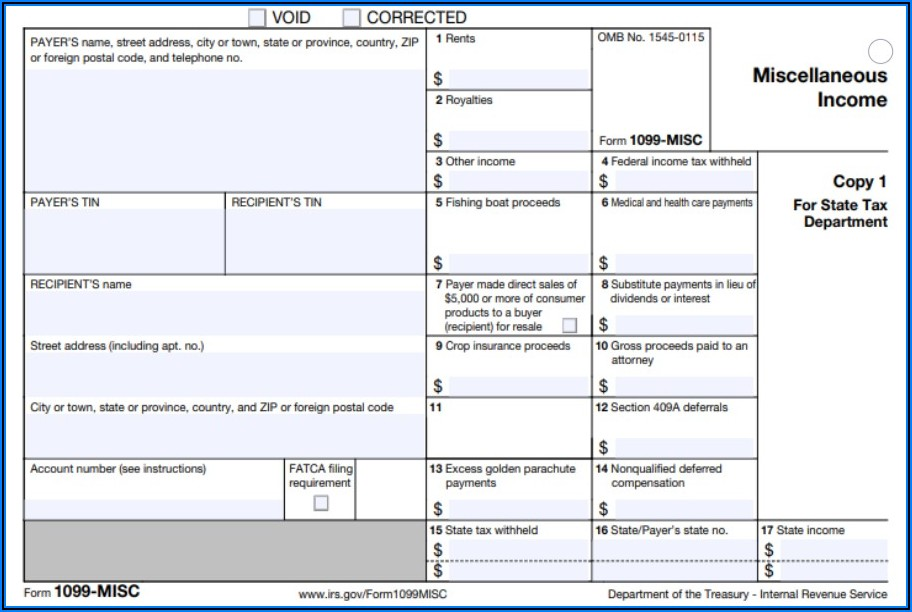Form Misc 1099
