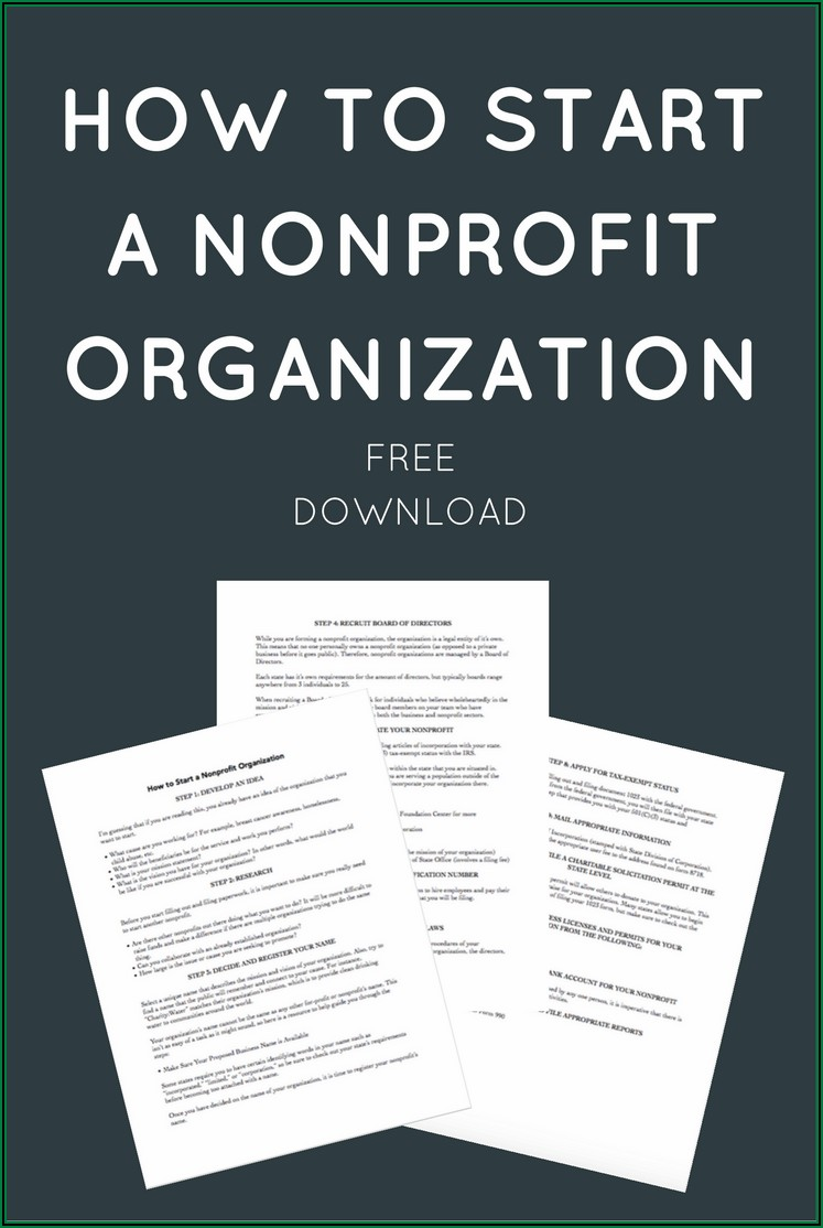 Forming A Nonprofit In Florida