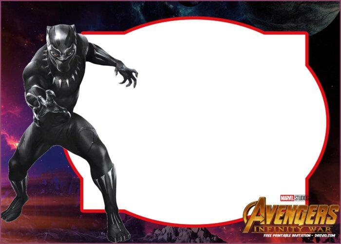 Free Avengers Birthday Invitation Templates