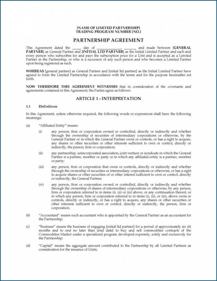 Free Business Sale Agreement Template Word