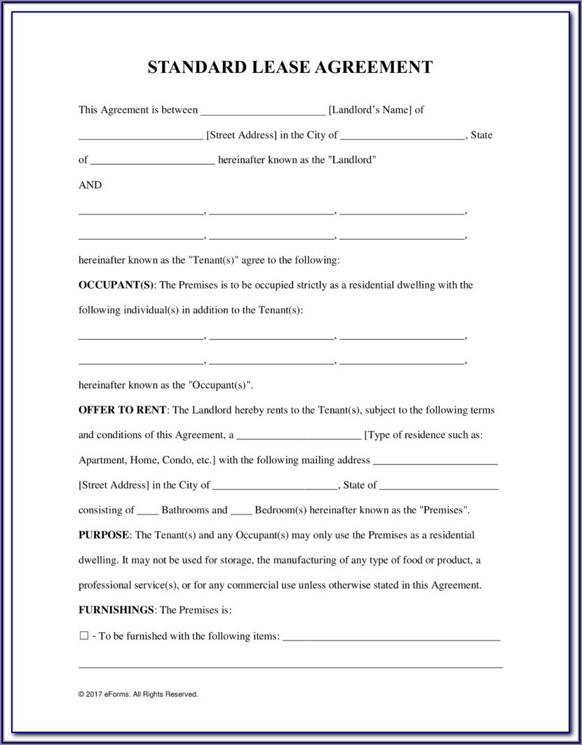 Free Commercial Real Estate Forms