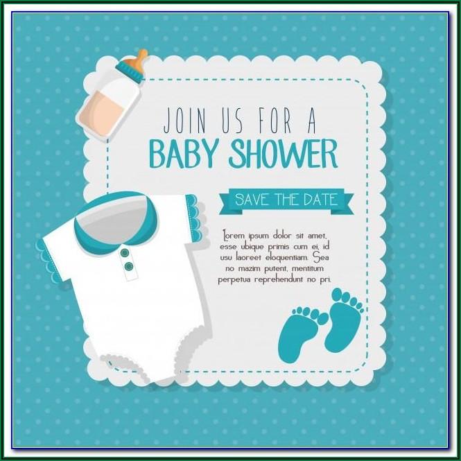 Free Online Invitation Card Design For Baby Shower
