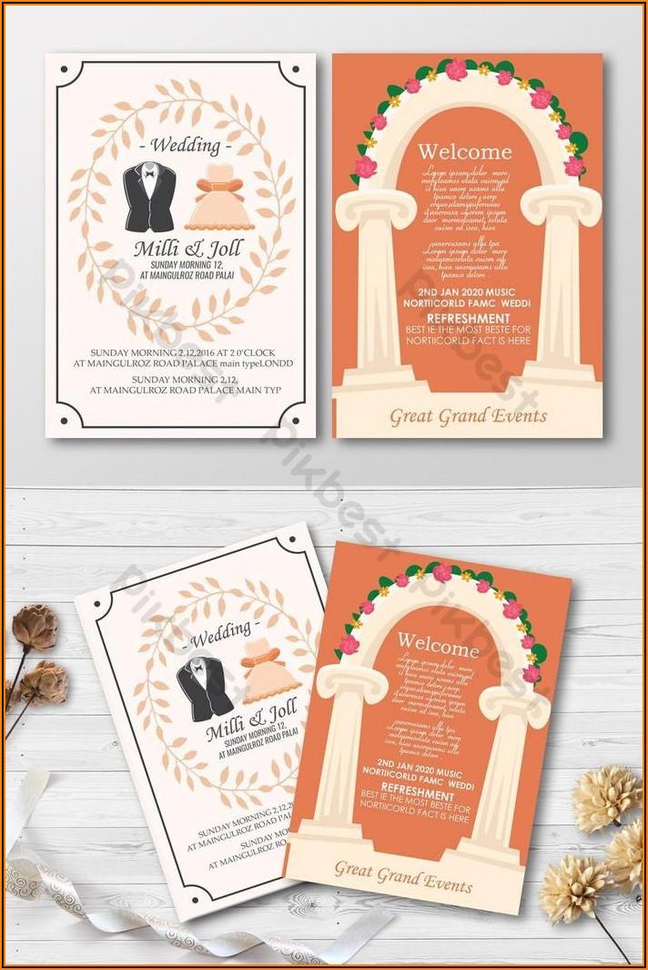 Free Wedding Invitation Card Design