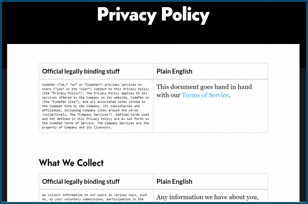 Gdpr Privacy Policy Template For Employees