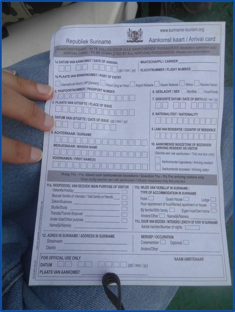 Guyana Passport Renewal Form Printable
