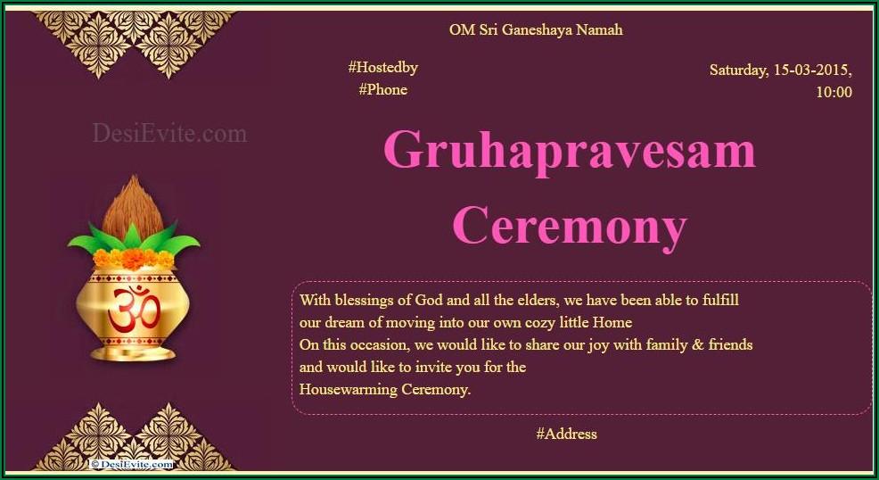 Housewarming Invitation Wording Samples In Kannada 3