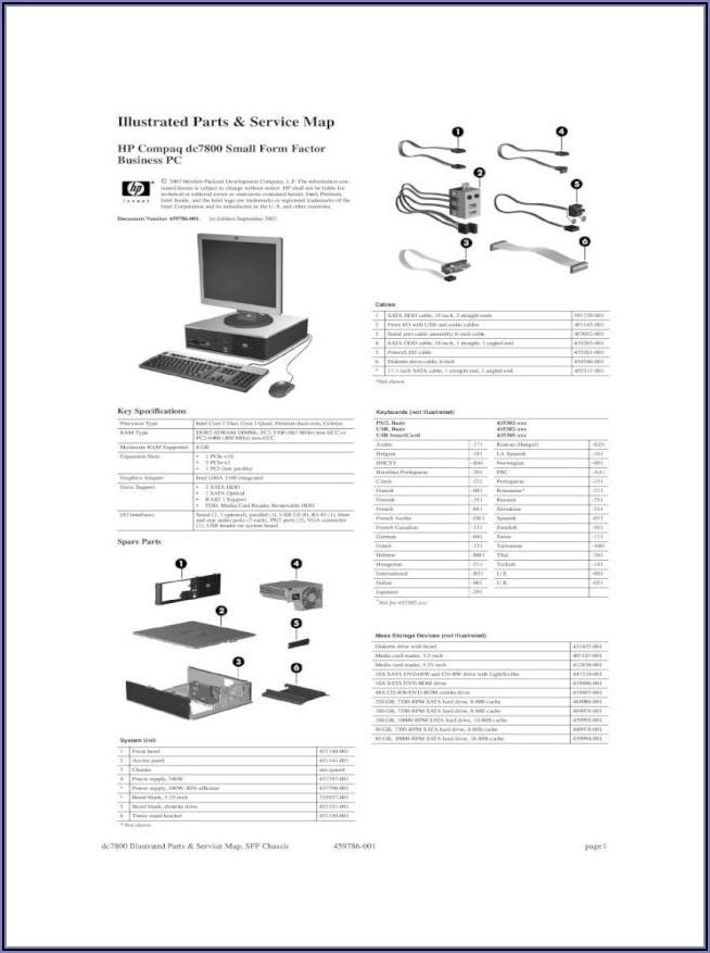 Hp Compaq Dc7700 Small Form Factor Pc Bios Update