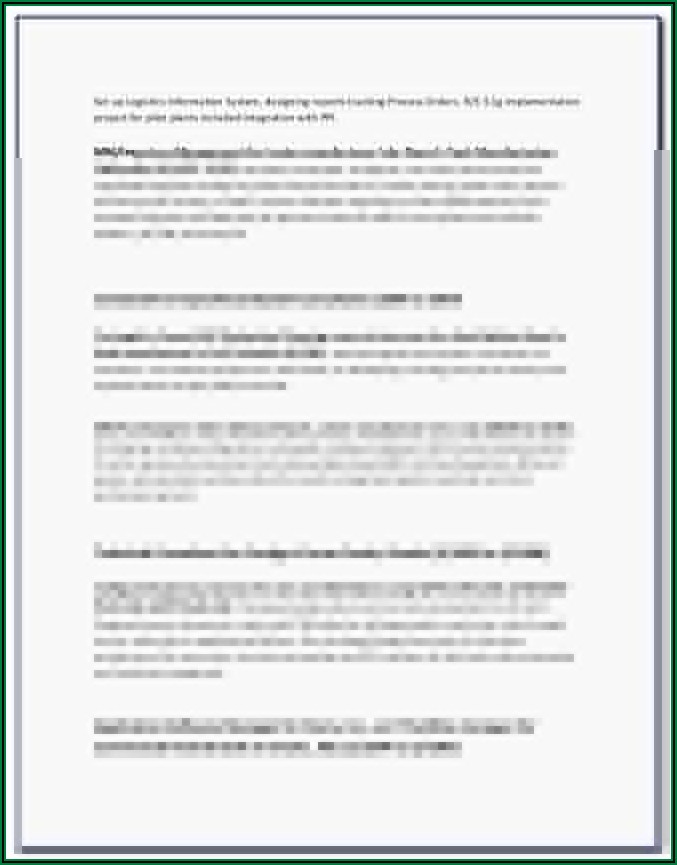 Hvac Sales Proposal Forms
