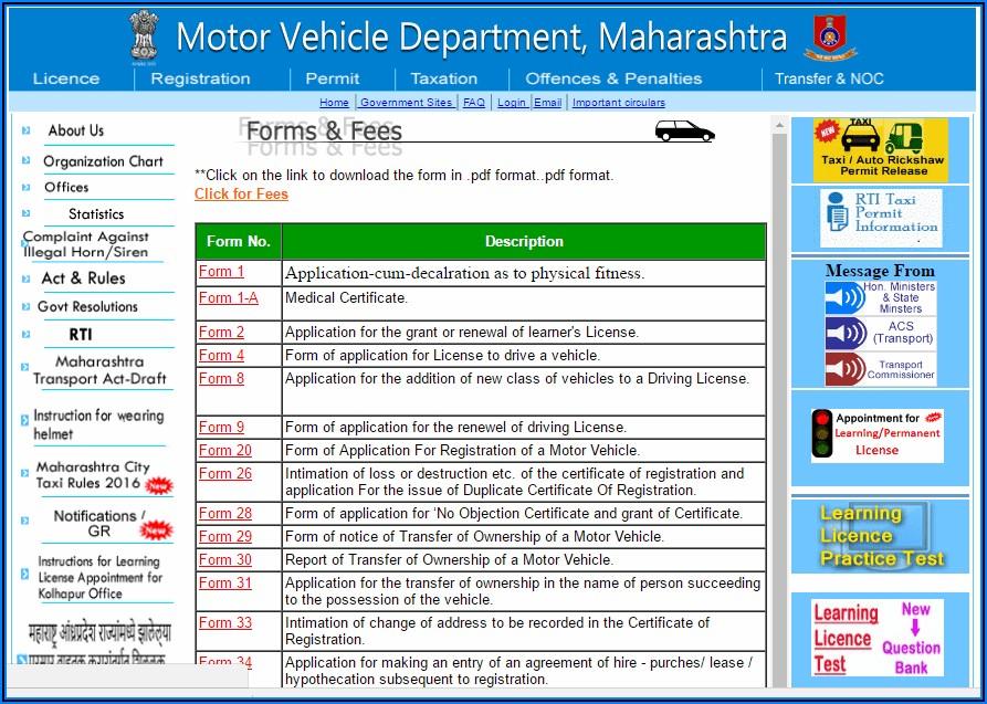 International Driving Licence Application Form