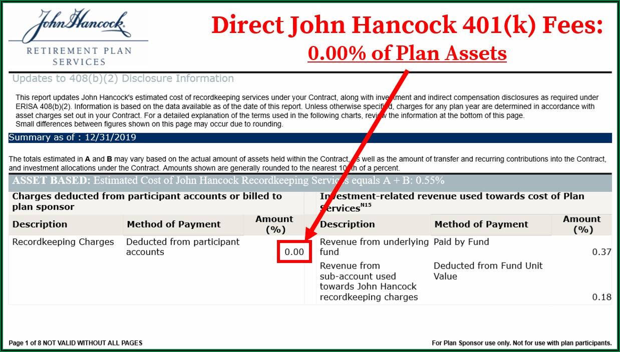 John Hancock 401k Rollover Request Form