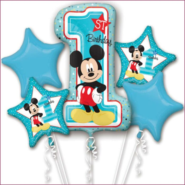 Mickey Mouse Clubhouse 1st Birthday Party Supplies