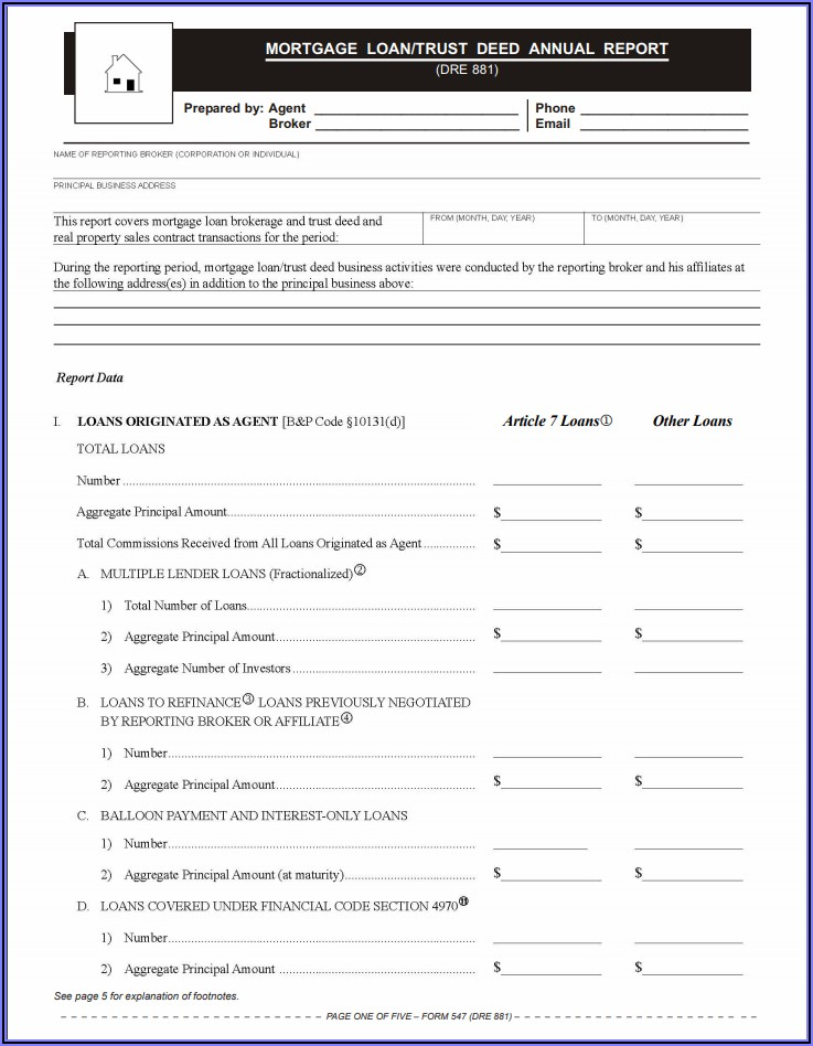 Mortgage Deed Template