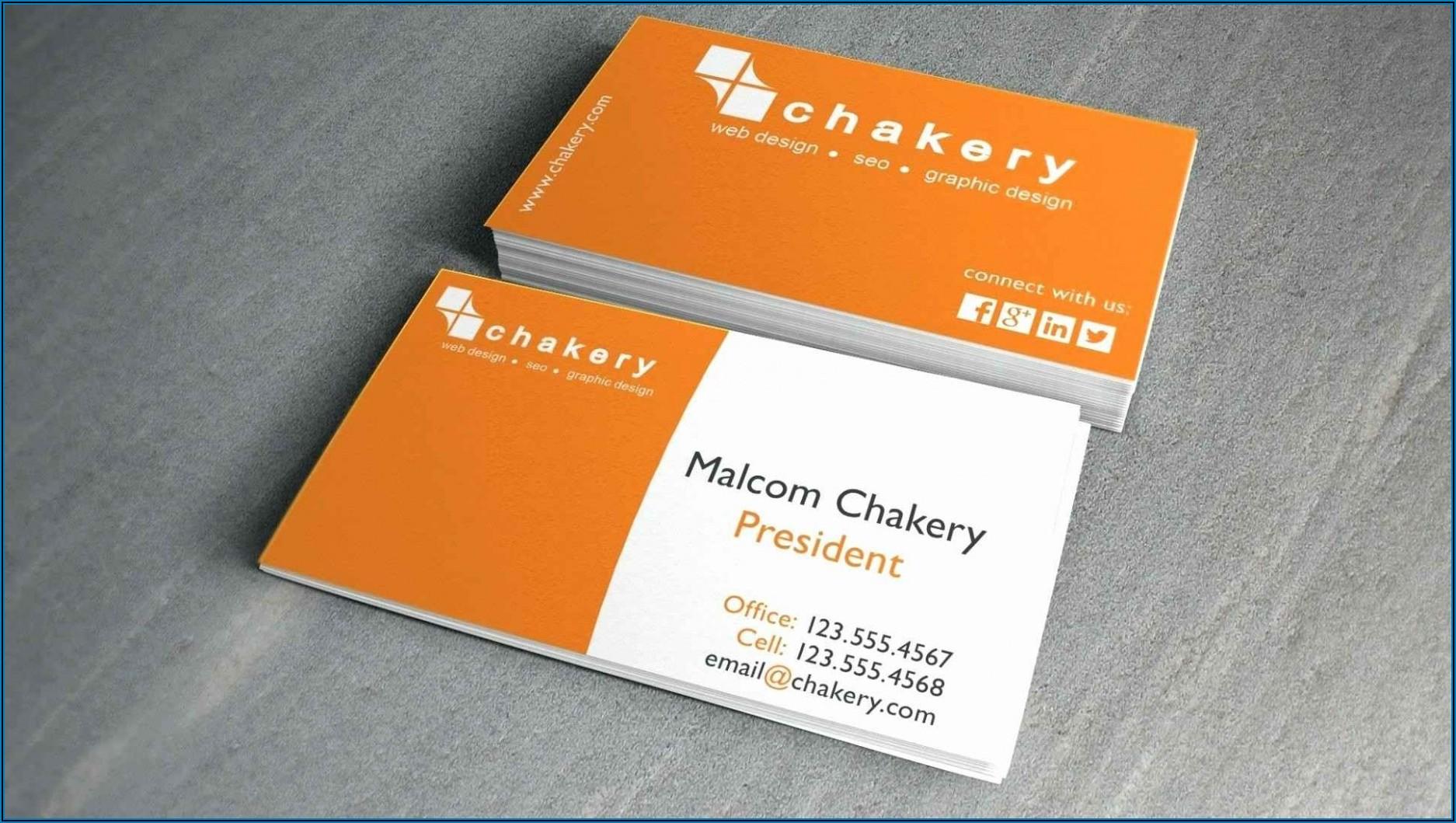 Office Depot Business Card Template 8371