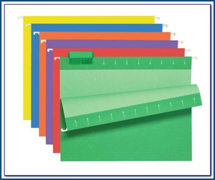 Pendaflex Hanging File Folder Tabs Template