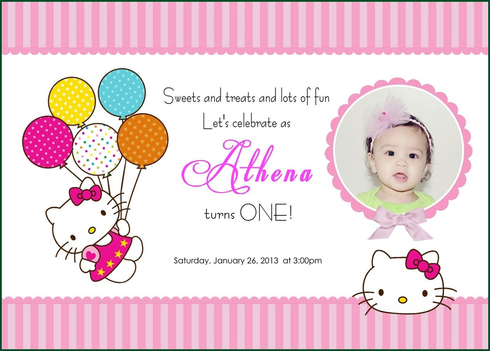 Printable Birthday Invitations Free Download