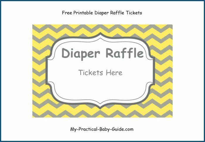 Raffle Tickets Printable Free