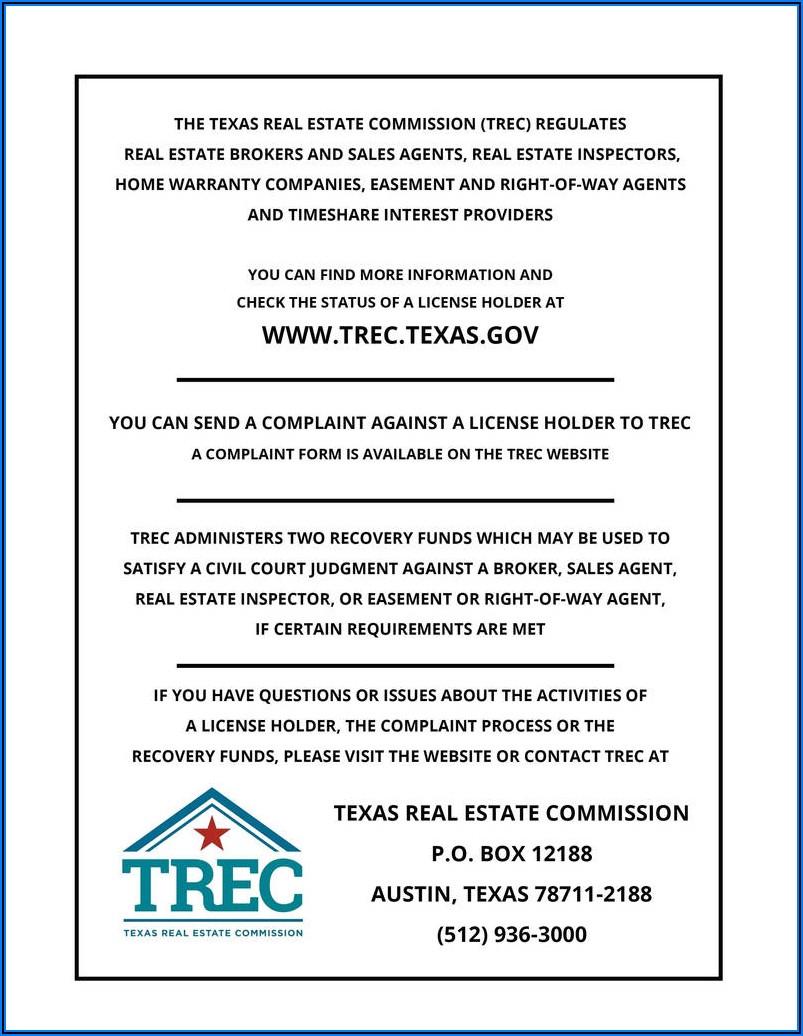 Real Estate Commission Disbursement Form