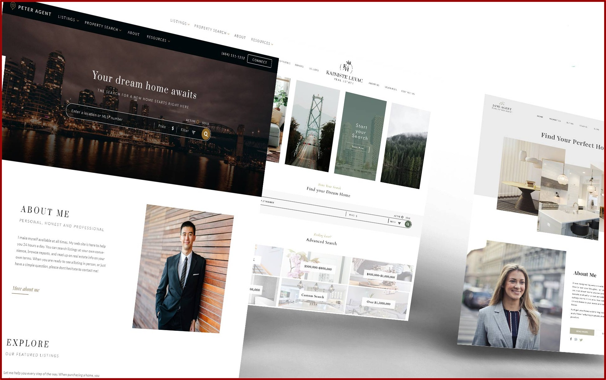 Realtor Website Templates With Idx