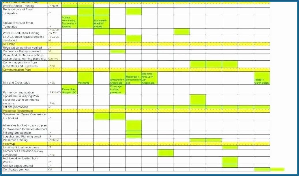 Recruitment Action Plan Template Excel