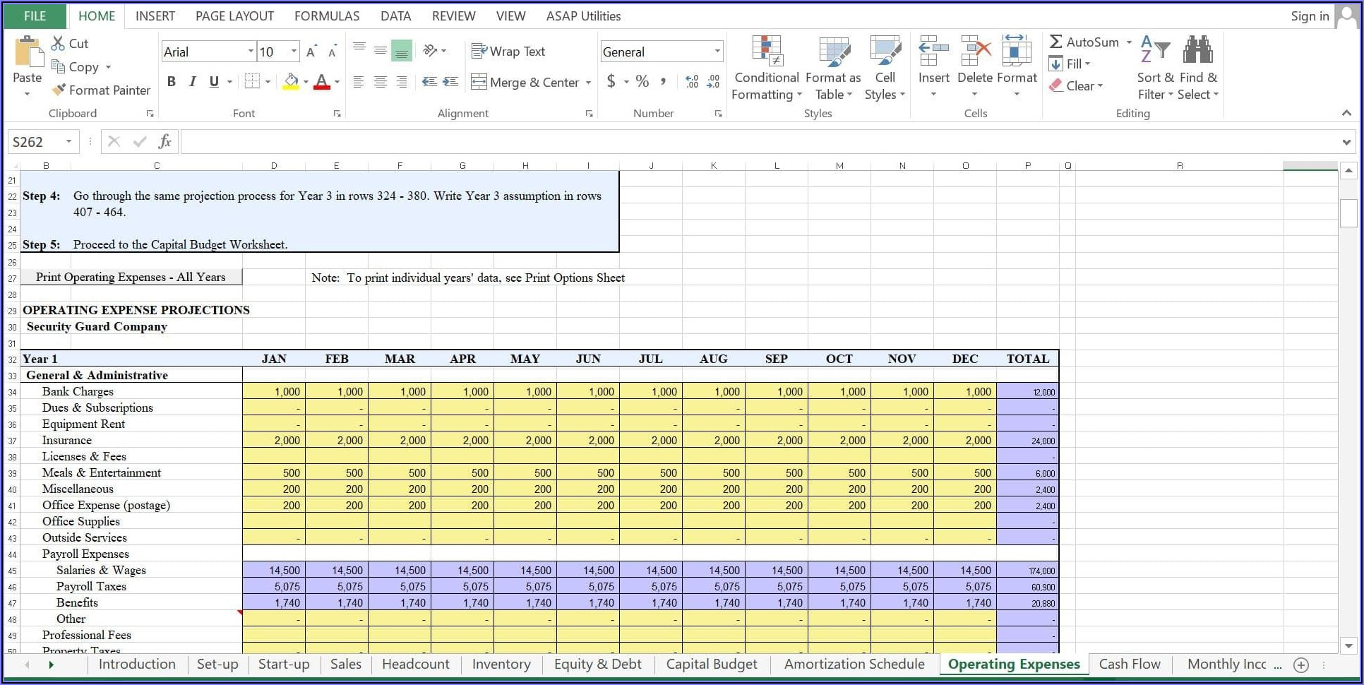 Security Company Business Plan Template