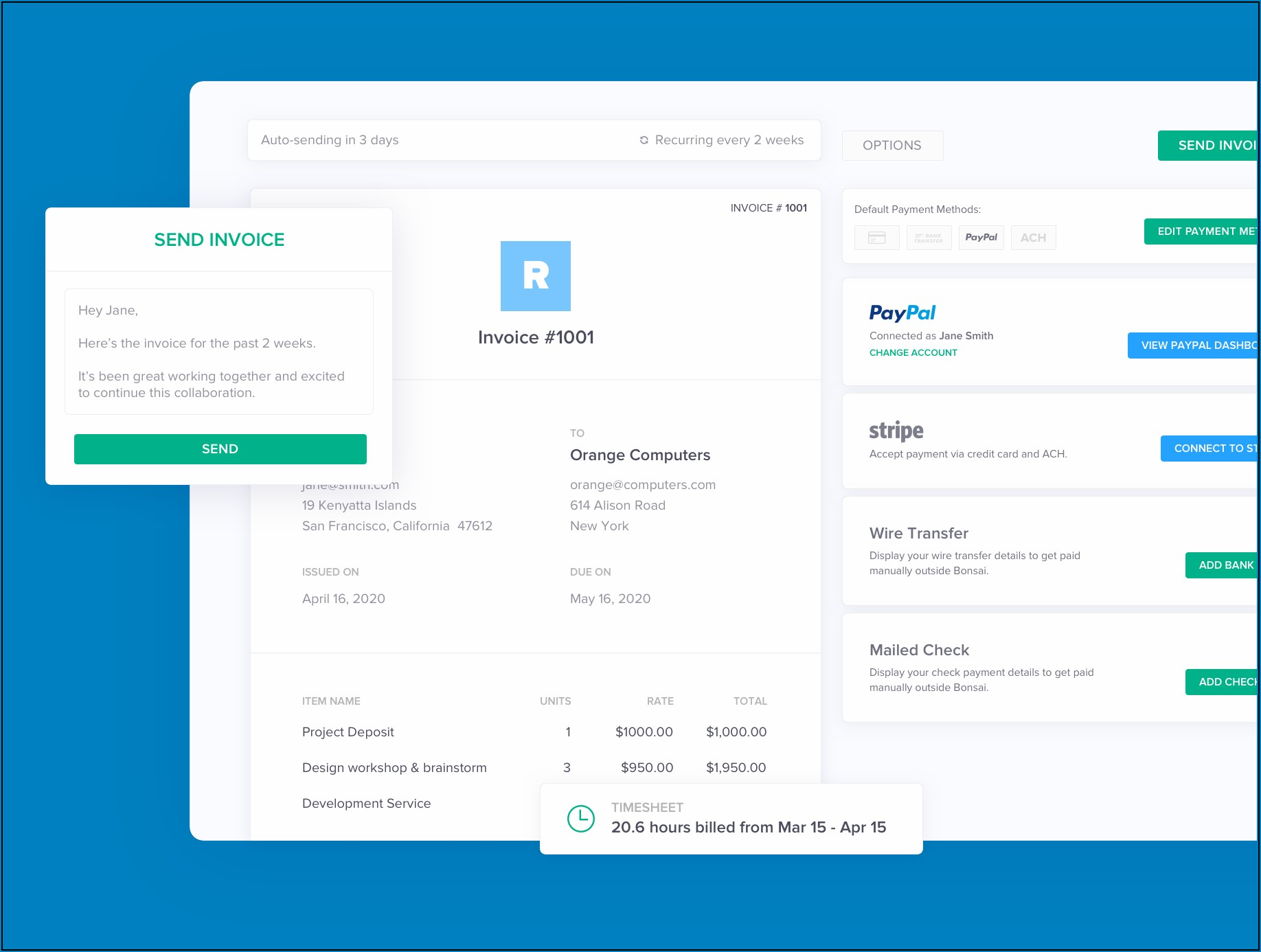Seo Invoice Template