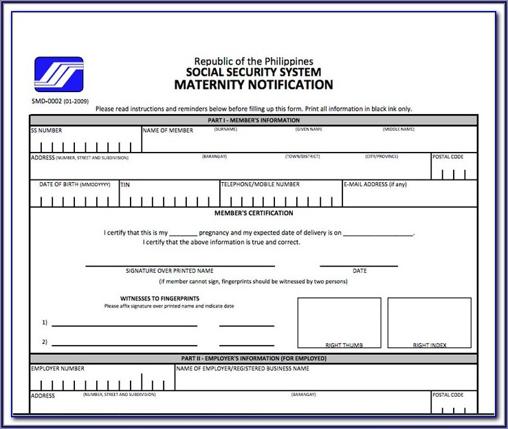 Social Security Disability Benefits Forms