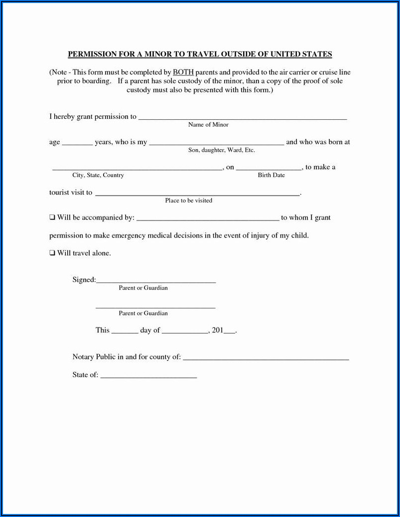 Temporary Custody Of A Child Forms Free