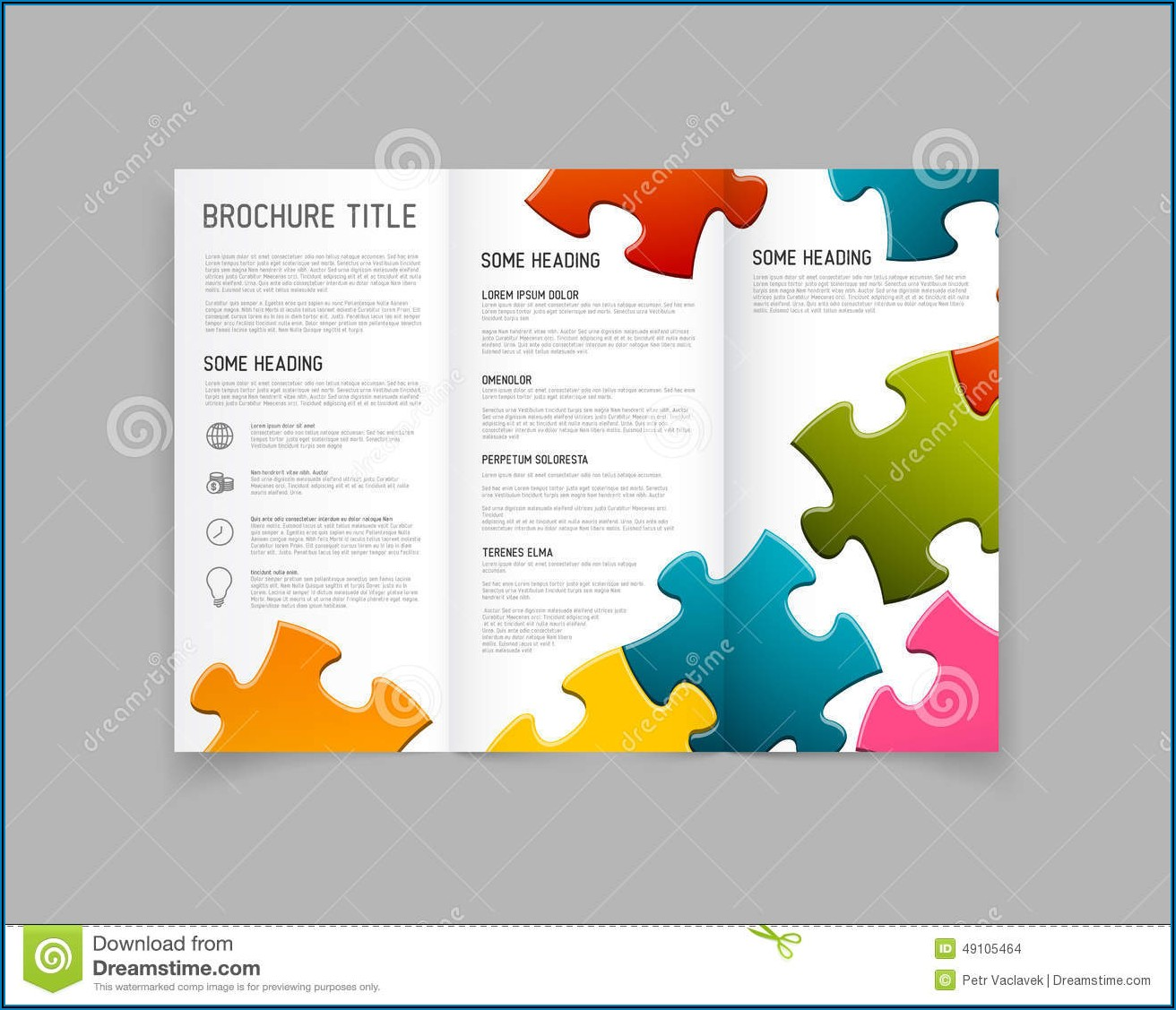 Three Fold Brochure Design Template