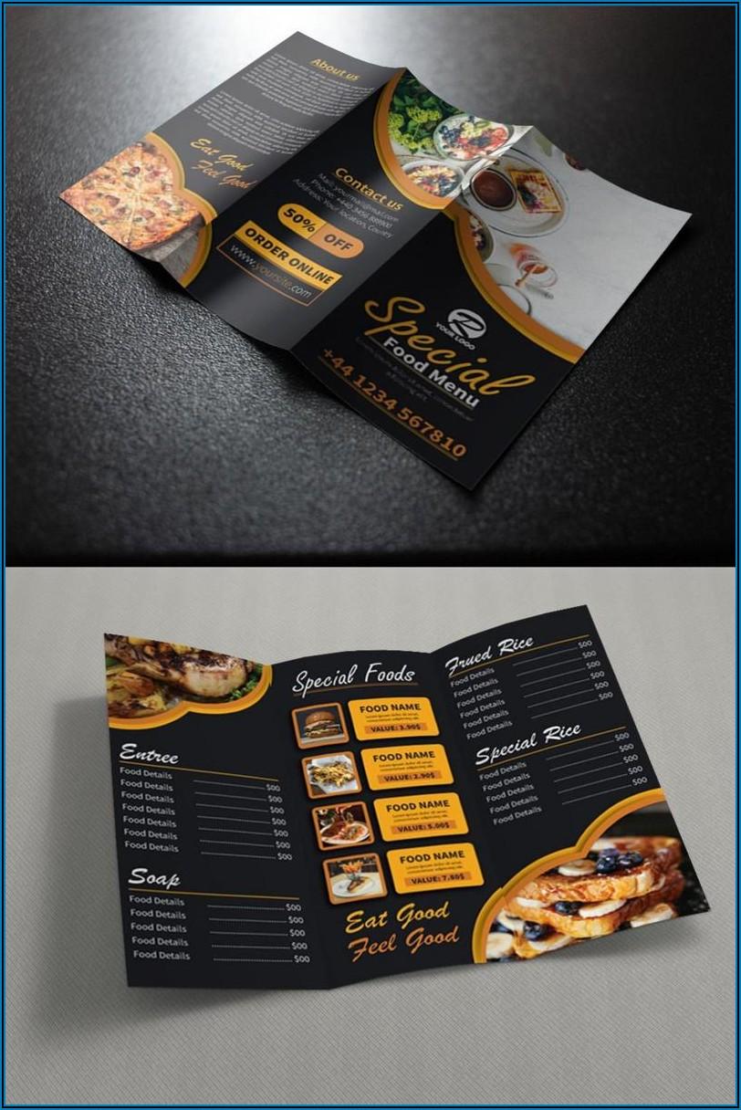 Tri Fold Brochure Design Templates Free Download