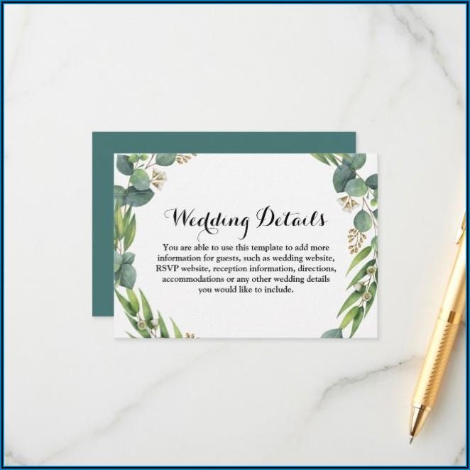 Wedding Rsvp Website Template