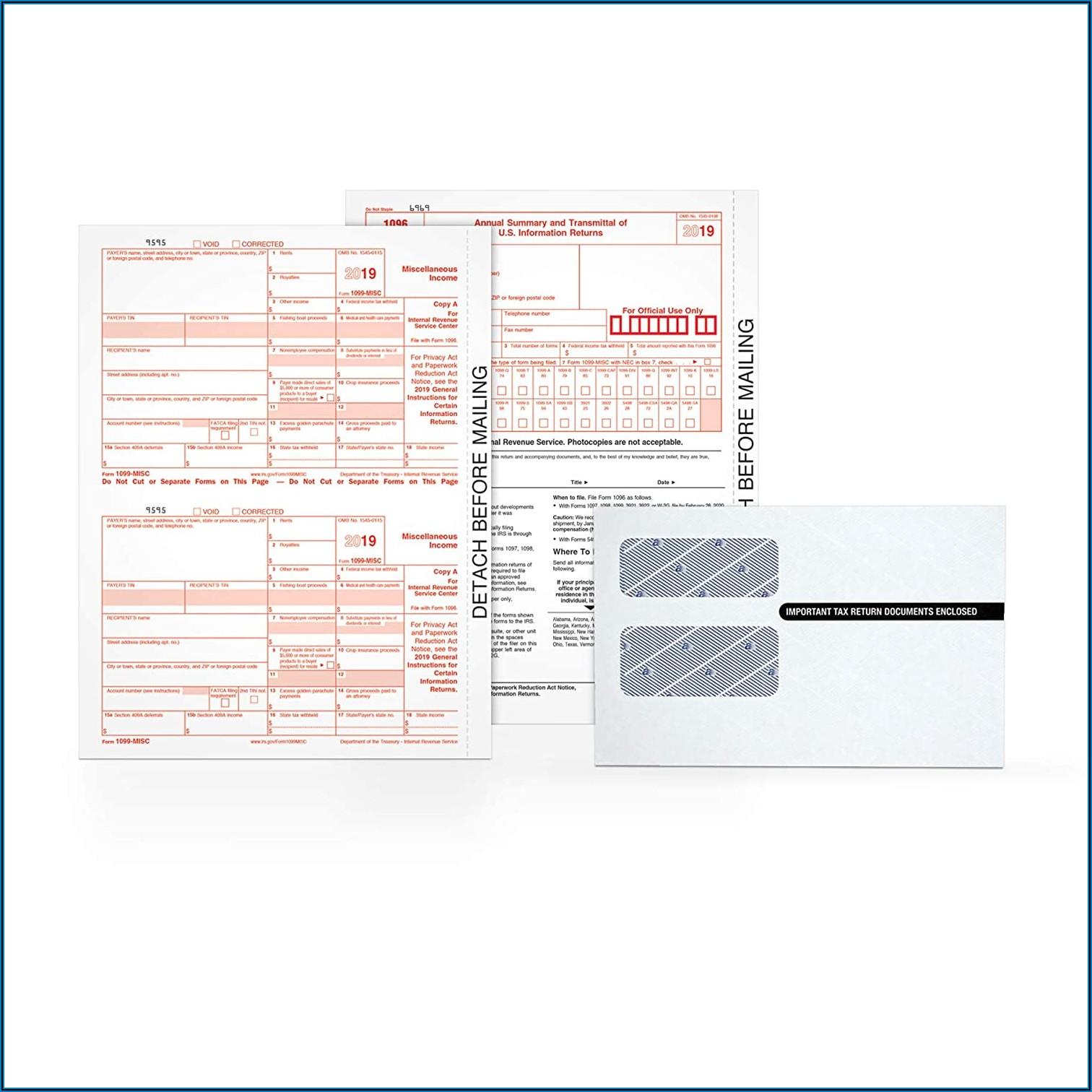 1099 Misc Inkjetlaser Tax Forms