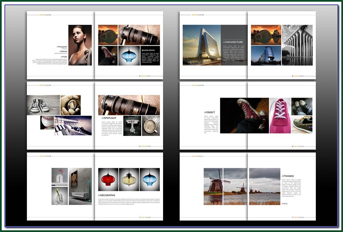 8.5 X 11 Brochure Template Indesign