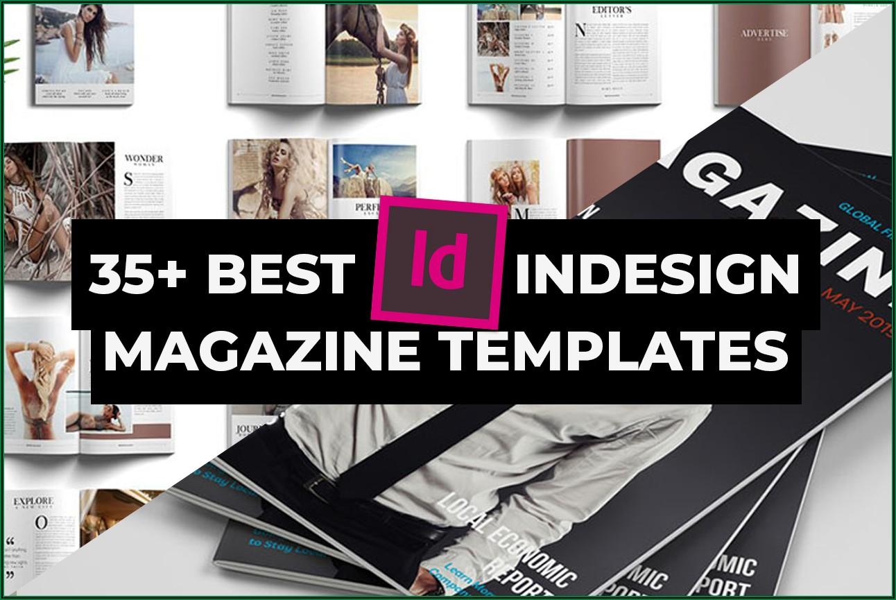 Adobe Indesign Magazine Layout Template Free