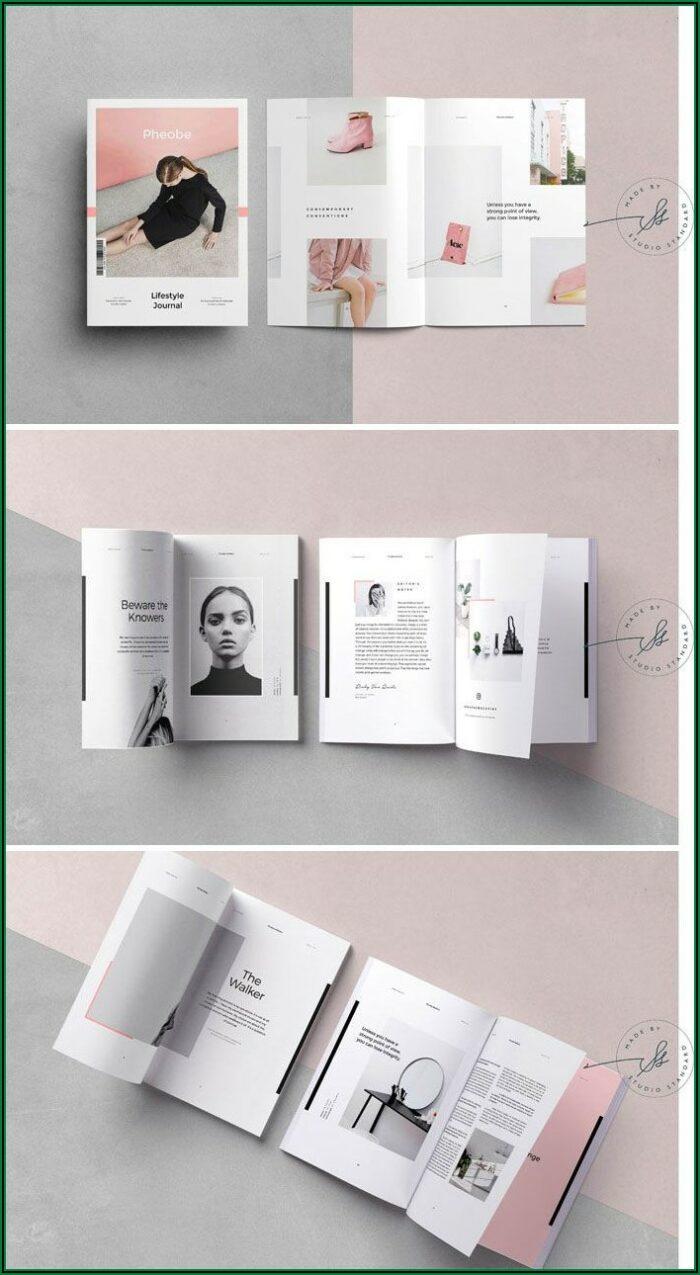 Adobe Indesign Magazine Template