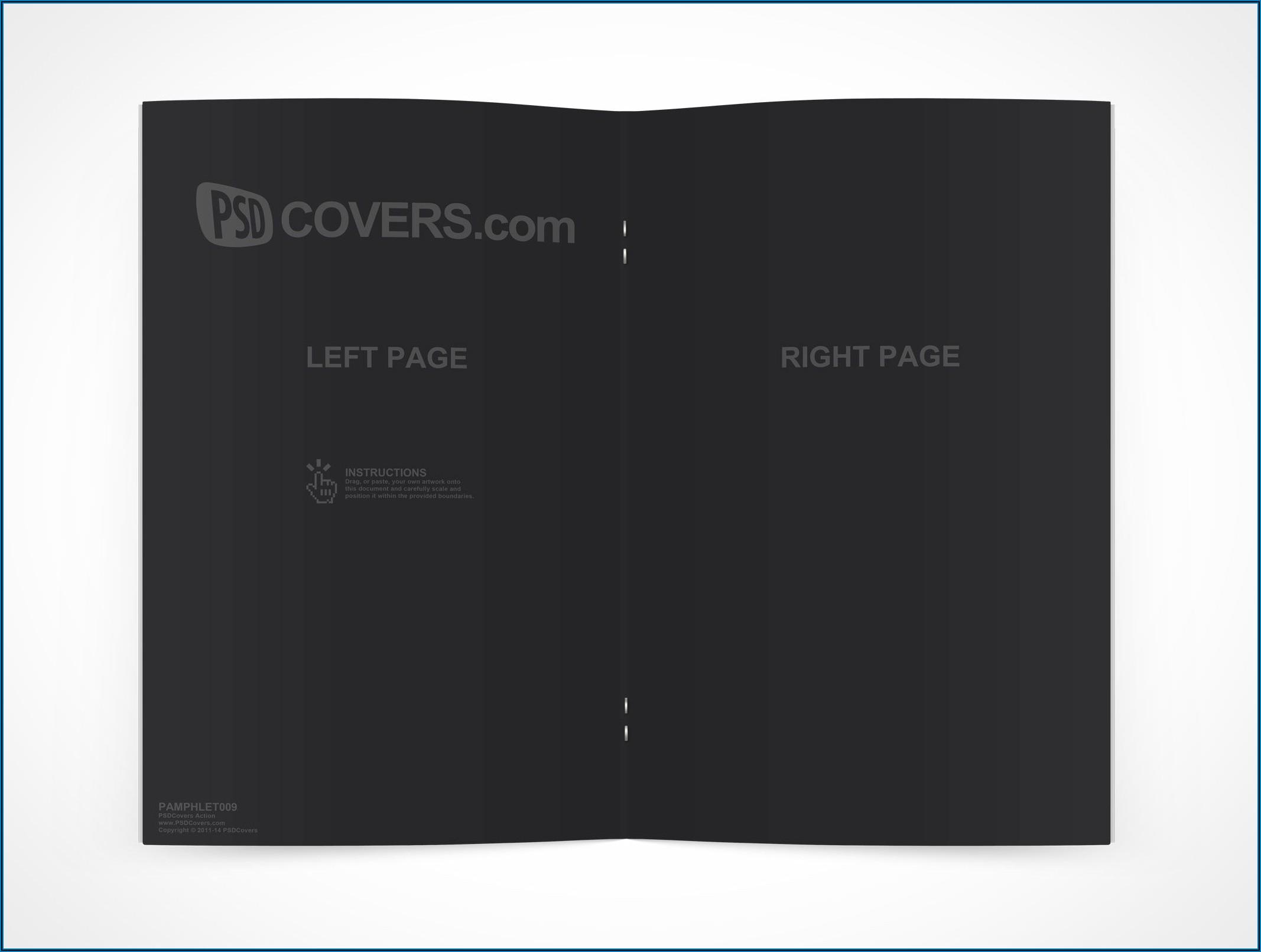 Bi Fold Pamphlet Template